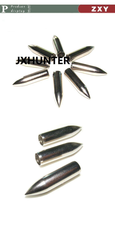 Glass fiber Arrow Field Points 80gr arrow points arrow tips for ID 8.0mm hunting arrows