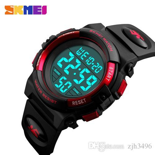 6f3536bb1bc2 Compre Relojes Para Niños SKMEI Brand Swim Deportes Acuáticos Al Aire Libre  Reloj De Niños Para Boy Girls Fashion Casual LED Reloj De Pulsera Digital A  ...