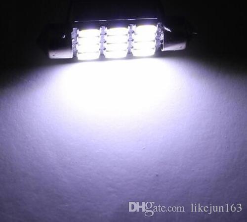 12V 31/36/39/41 мм 5630smd ксенон белый автомобиль светодиодный свет для чтения свет / номерного знака свет / купол свет