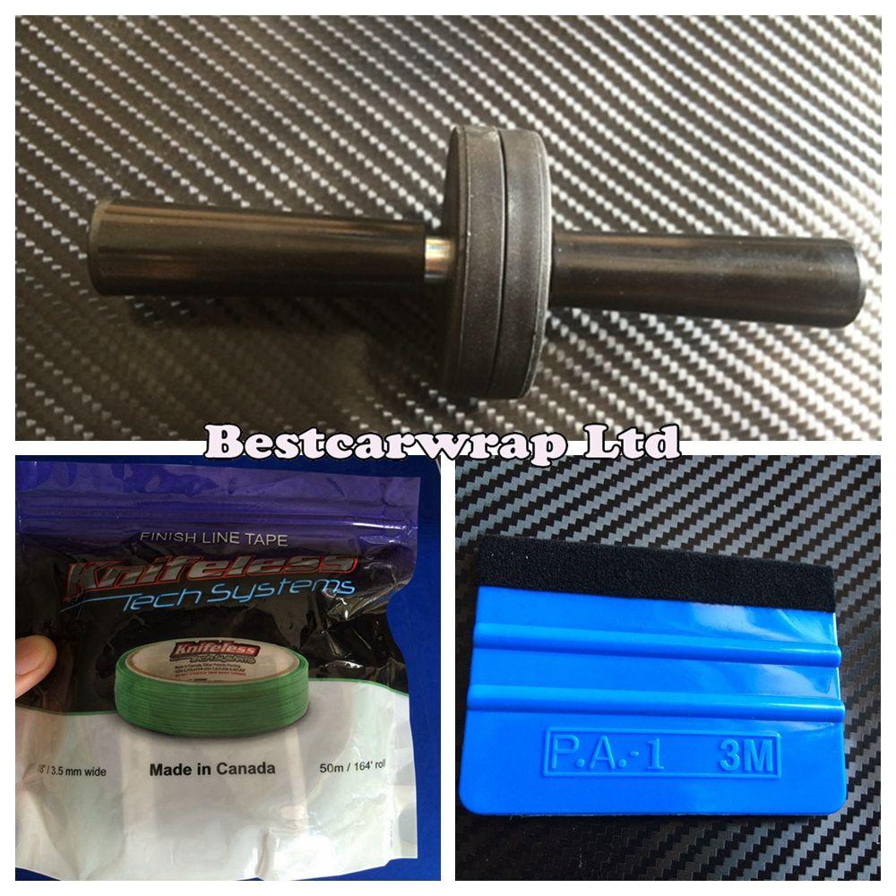 2 pz Magnet Holder / 3M Squeegee e 1 pz Knifeless tape Car Wrap Styling Veicoli Grafica accessori auto