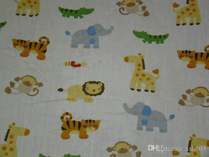 Wholesale 2016 Boy and girl love Baby bedding set selva Crib bedding set Pure cotton Baby Quilt Bed around Fitted Bedskirt Cot bedding set