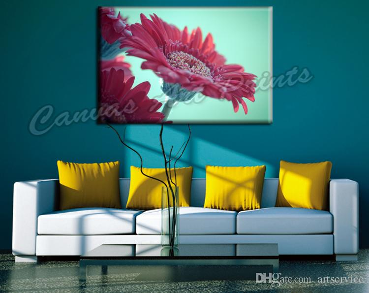 2019 Dropship Wall Decor Canvas Flowers Printed Painting