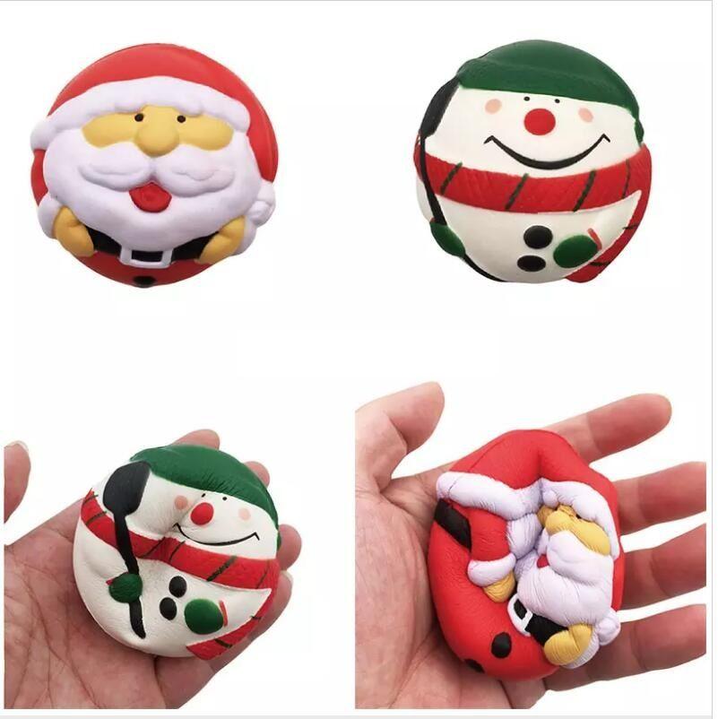 Großhandel Neuheit Squishy Weihnachtsmann Langsam Rebound Squeeze ...