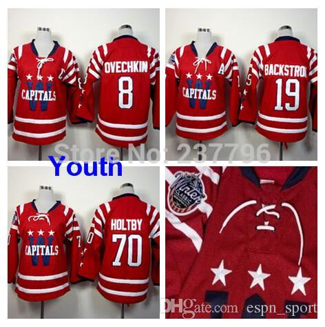 Online Cheap 2015 Washington Hockey  8 Alex Ovechkin Youth Jersey  19  Nicklas Backstrom Jersey Red  70 Braden Holtby Winter Classic Jersey Kids  By ... f1edbcb62