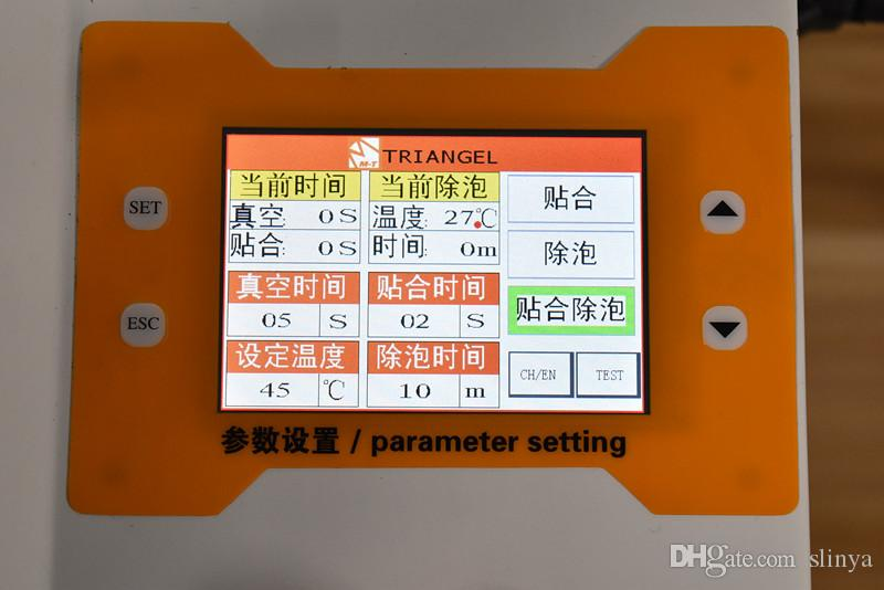 All in One Riparazione LCD telefoni cellulari Refurbish OCA Macchina laminazione a vuoto Debubbler Bubble Rimuovi la macchina