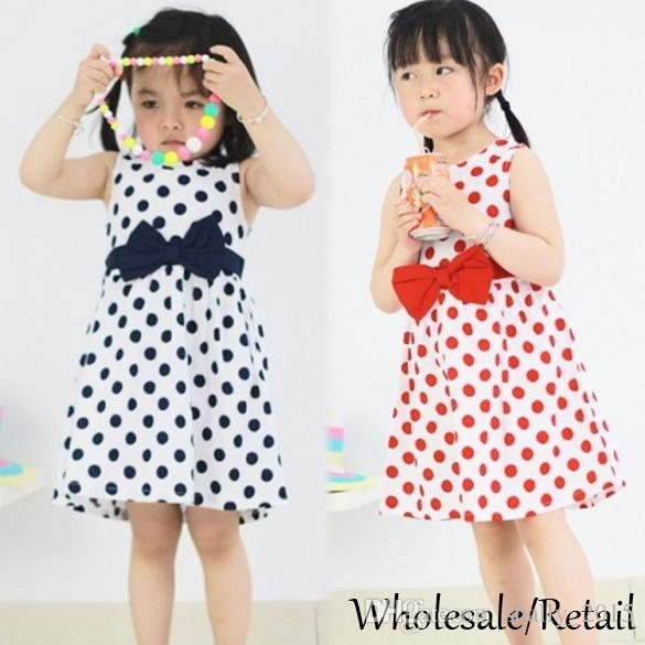 6b3c2e9bdea9 2019 Cheap Kids Baby Girls Princess Dresses Chiffon Party Summer ...