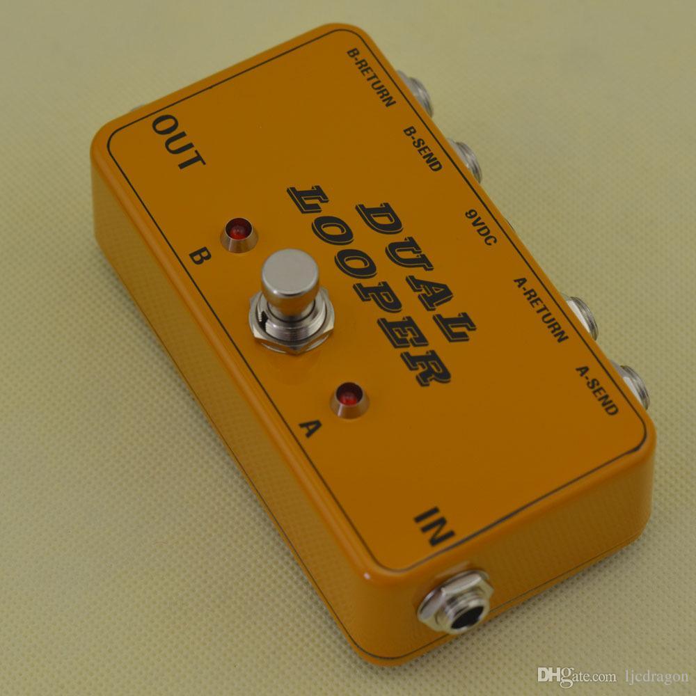Nouveau 2 pédales Looper-Guitar Loop Board-True Bypass-Effects @ Livraison gratuite