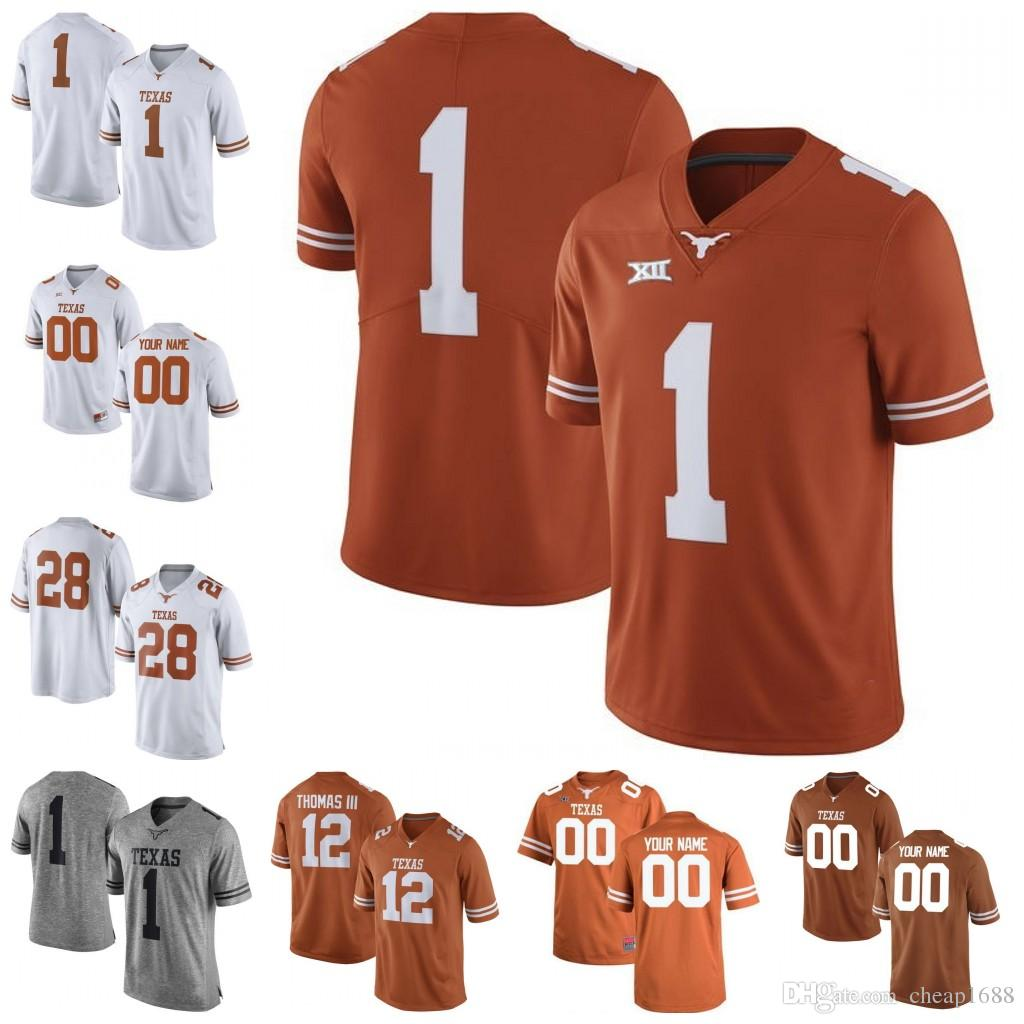finest selection e01e5 013a7 texas longhorns 20 campbell orange jersey