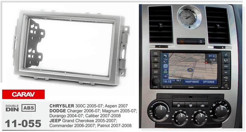 Carav 11 055 Top Quality Radio Fascia For Chrysler 300c Dodge Rhdhgate: 2007 Jeep Grand Cherokee Interior Radio At Gmaili.net