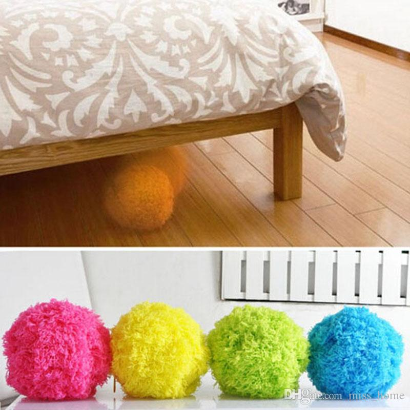 Mini Automatic Roll Ball Microfiber Vacuum Cleaner Floor Sweeper Mop Balls Household Cleaning Tools Cleaning Cloths Hot Selling Automatic