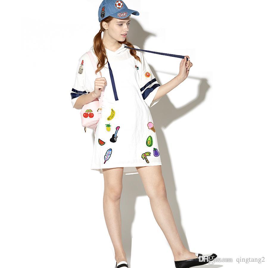 Стачать Вышивка Знак Патчи для одежды железа на Аппликация моды нашивки Патч Jacket аксессуары бой, как девочка