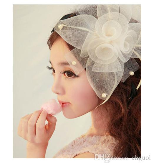 2015 Vintage Headdress Wedding Tiara With Pin High Quality Pearls