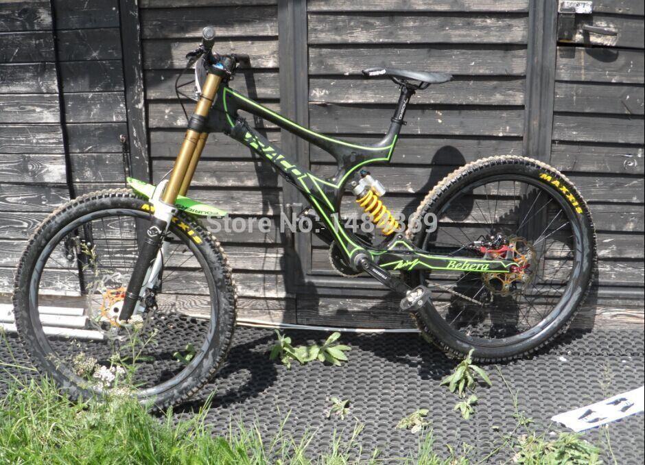 Mtb Downhill Dh Frame Carbon Mountain Bicycle Frame Triathlon ...