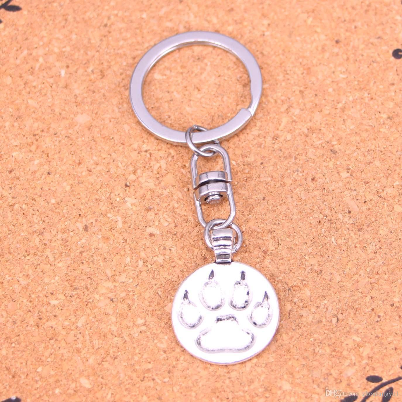 5692fe4355 Acquista Novità Souvenir Metallo Orso Zampa Portachiavi Regali Creativi Portachiavi  Apple Portachiavi Anello Portachiavi Auto Gingillo A $0.64 Dal ...