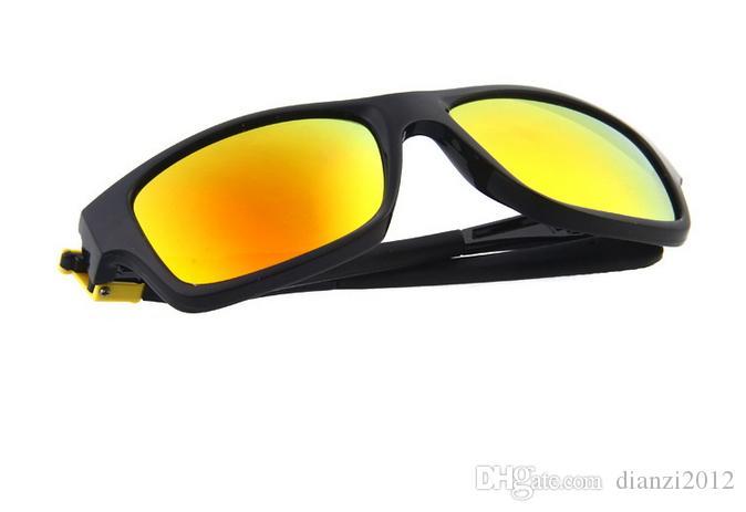 النظارات الشمسية الجديدة للرجال العلامة التجارية مصمم النظارات الشمسية الصيف احدث اسلوب النظارات 11 الألوان الرياضة في الهواء الطلق الرجال النساء الدراجات نظارات