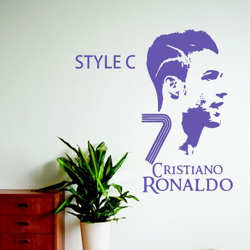 Art wall sticker cristiano ronaldo cheap vinyl home decoration art wall sticker cristiano ronaldo cheap vinyl home decoration football player wall sticker removable house decor soccer star decals floral wall stickers voltagebd Choice Image