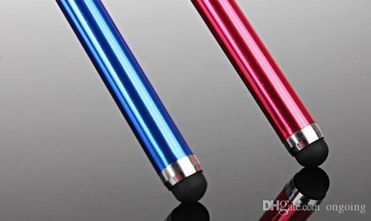 Caneta stylus tela de toque capacitivo para o telefone móvel universal tablet ipod ipad celular iphone 5 5s 6 6 plus 100 peças