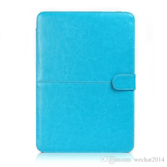 Kunstleder Laptop Folio Book Wallet Hülle Für Apple Macbook Air Pro 11 '' 12 '' 13