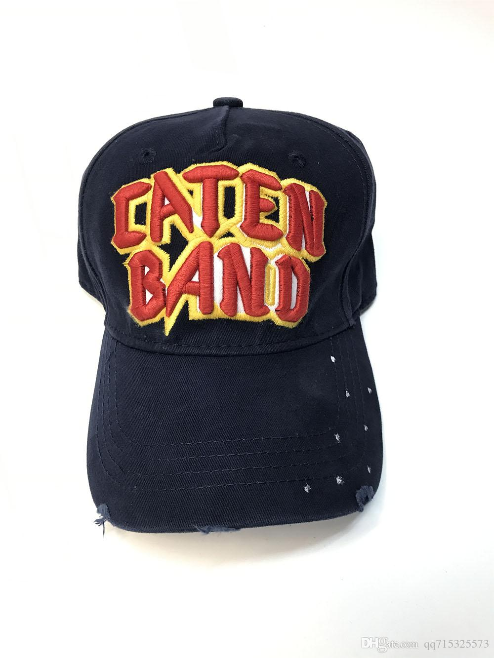 75856f7bf9d CATEN BAND Cotton Fasion Leisure Baseball Cap Hat For Men Snapback Hat  Casquette Women S Cap Wholesale Fashion Accessories Baseball Caps Custom  Hats From ...