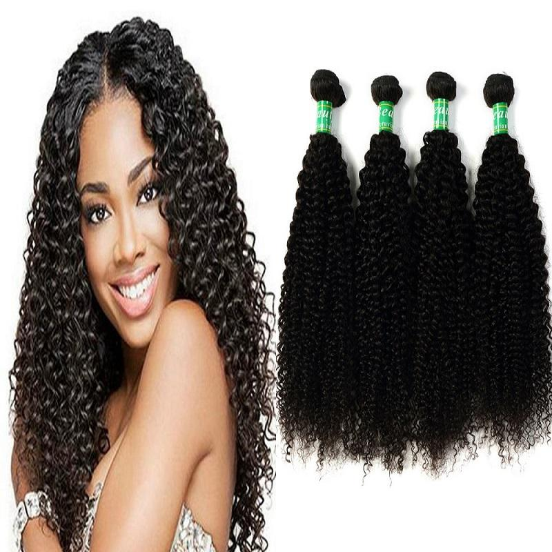 2018 Peruvian Full Head Hair Extensions Long Curly Wave Hair