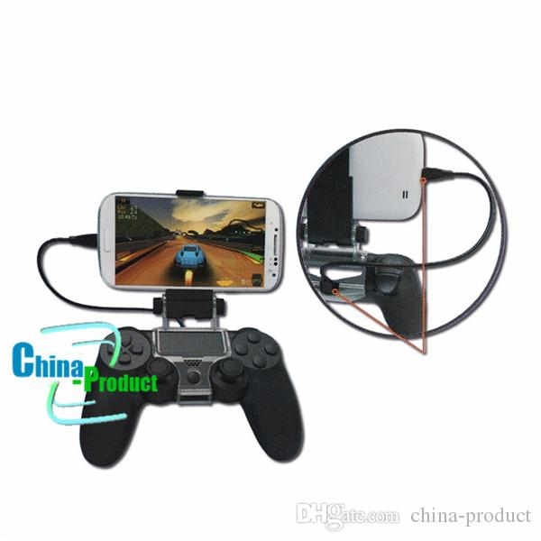 Cellphone Clamp Mobile Phone Clamp Smart Clip Holder Handle Bracket for PS4 DualShock 4 Controller 010207