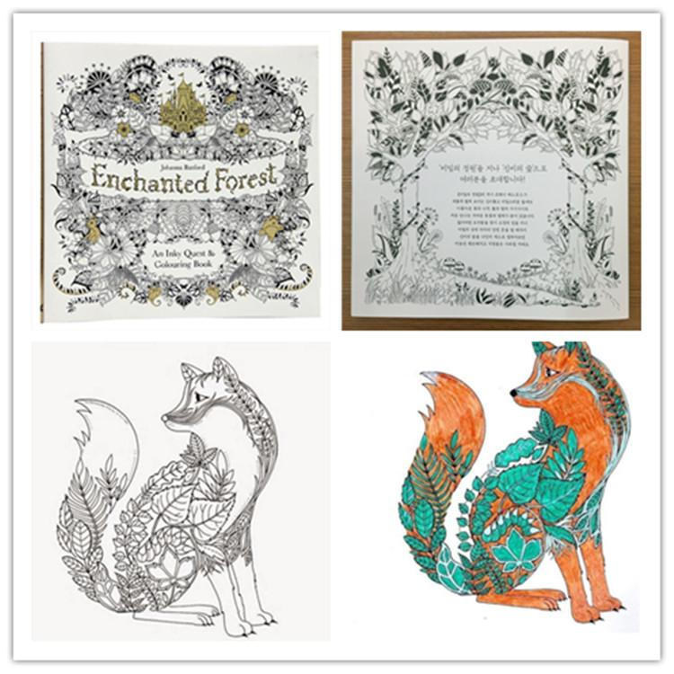 Acheter Enchanted Forest Coloring Book 2015 Copies
