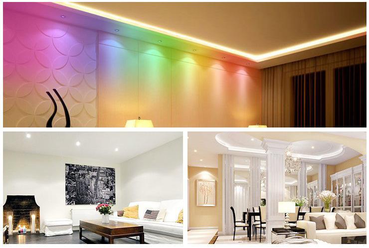 3W LED RGB Bulb Changing 3W LED Spotlights RGB led Light Bulb Lamp E27 GU10 E14 MR1612V GU5.3 24 Key Remote Control 85-265V