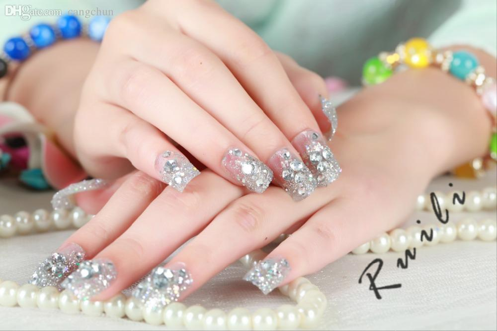 Discount Fake Nails Diamonds | Fake Nails Diamonds 2018 on Sale at ...