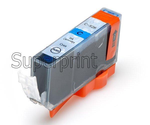 6 X 잉크 카트리지 PGI-525 BK PGI525BK CLI-526 Canon Pixma MG6100 MG6150 MG6250 프린터 용