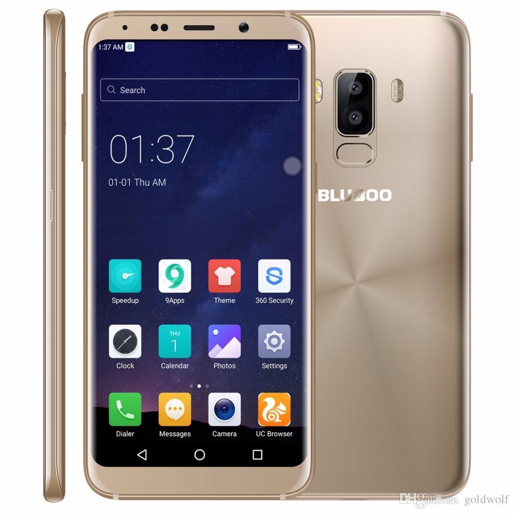 Forfait Smartphone Pas Cher Bluboo S8 4g Téléphone Mobile Mtk6750t