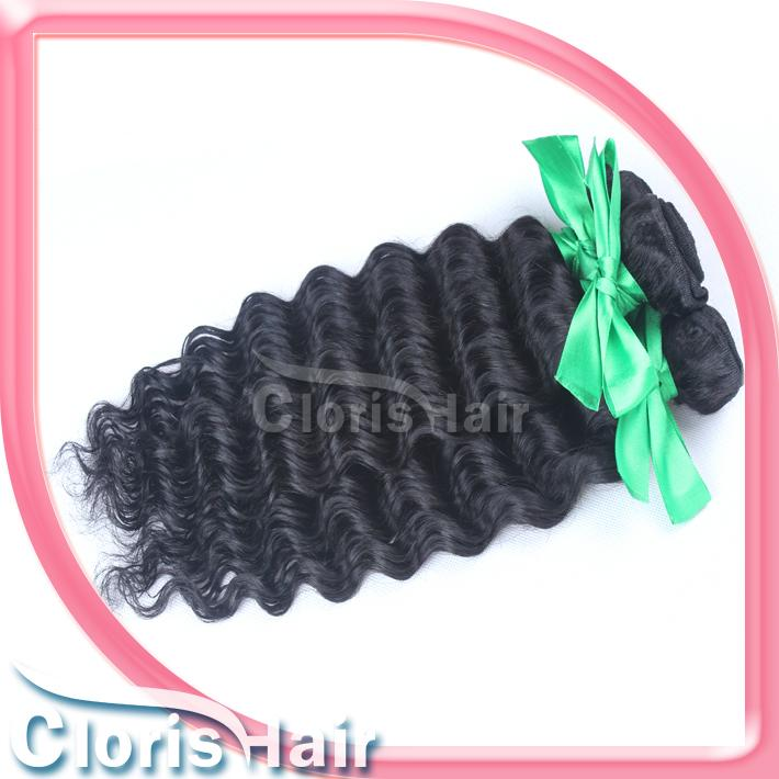 """Great Texture Deep Curly Wefts Raw Virgin Indian Deep Wave Human Hair Extensions 12-26"""" Unprocessed Hair Weave Bundles Deals Fast Ship"""