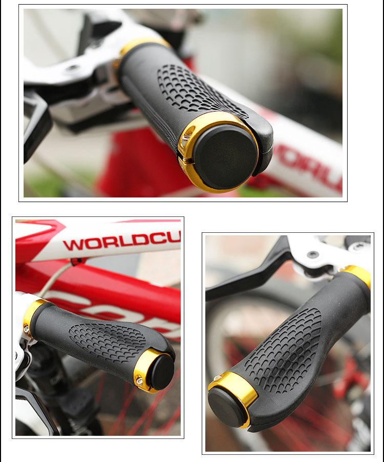 Skid-preuve Souple Guidon Grip Couverture Pour Montagne Vélo Vélo route Vélo poignée 5 Couleurs / Paire de Haute Qualité