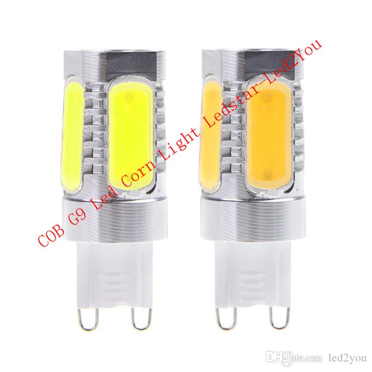 G9 Led Bulb Lights 8W COB Led Spot Lights 360 Angle Warm White Cool White Led Corn Lights For Shop Lighting AC 85-265V