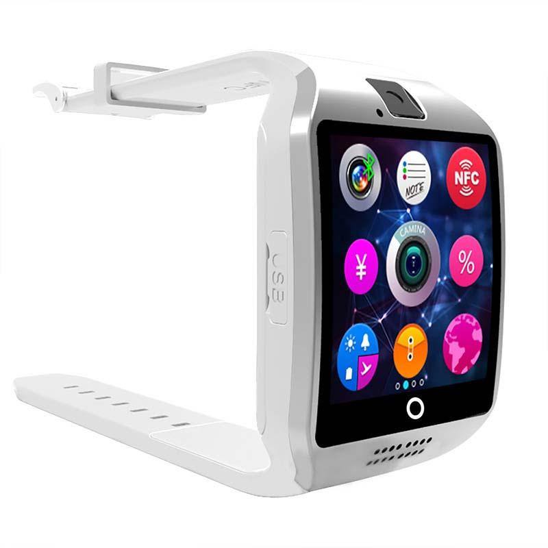 Bluetooth Smart Watch con slot schede SIM e TF Health Watch Android Samsung e IOS Apple iphone Smartphone Bracciale Smartwatch