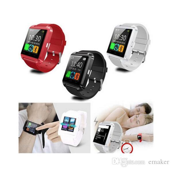Smartwatch U8 Bluetooth Anti-lost 1.5 inch Wrist Watch U Watch For Smartphones iPhone Android Samsung HTC Cell Phones Cheap sale