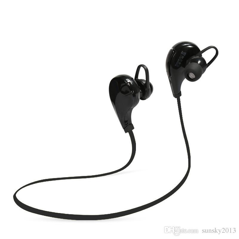 Bluetooth Kopfhörer QY7 Kabellos in den Ohr-Kopfhörern Sport Stereo Kopfhörer Anti-Schweiß Ohrhörer Freisprecheinrichtung für iPhone 6 LG Samsung HTC Xiaomi
