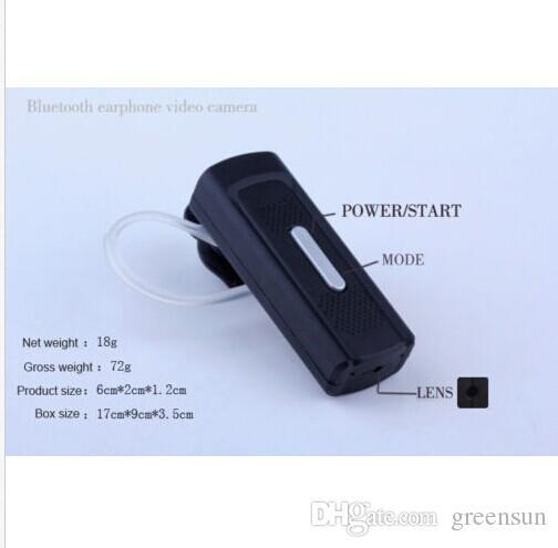 bluetooth earphones Camera HD 720p Audio Video Recorder DV Mini Camcorders earphone Cam