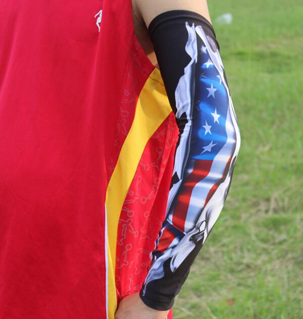 c9d657955eb 2019 Baseball Sleeve Bike Golf Live And Die Arm Sleeve Cover Warmers UV Sun  Protection Sleeve From Richeal8