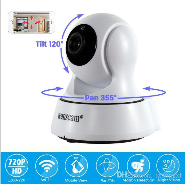 WANSCAM HW0036 Surveillance Camera 720P Wireless IR WiFi H.264 Indoor IP Security Camera with Pan&Tilt/Motion Detection/P2P