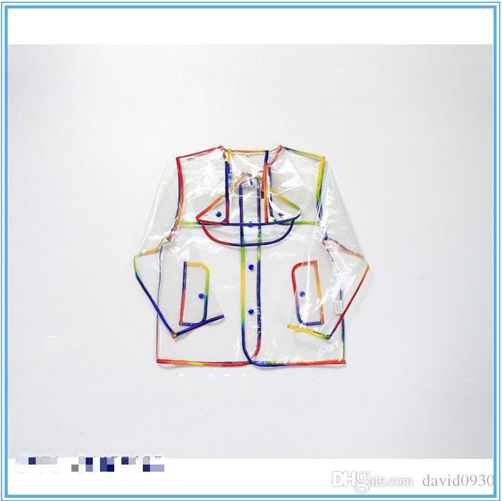 New Raincoat Eva, mentre la moda materiale di protezione ambientale del sacchetto impermeabile bambini impermeabile impermeabile pupilla