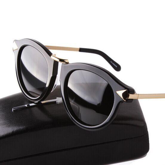0a42338e15 Wholesale 2016 New Fashion Brand Karen Women Round Frame Metal Arrow  Polarized Sunglasses Men Walker Driving Sun Glasses Lunettes De Serengeti  Sunglasses ...