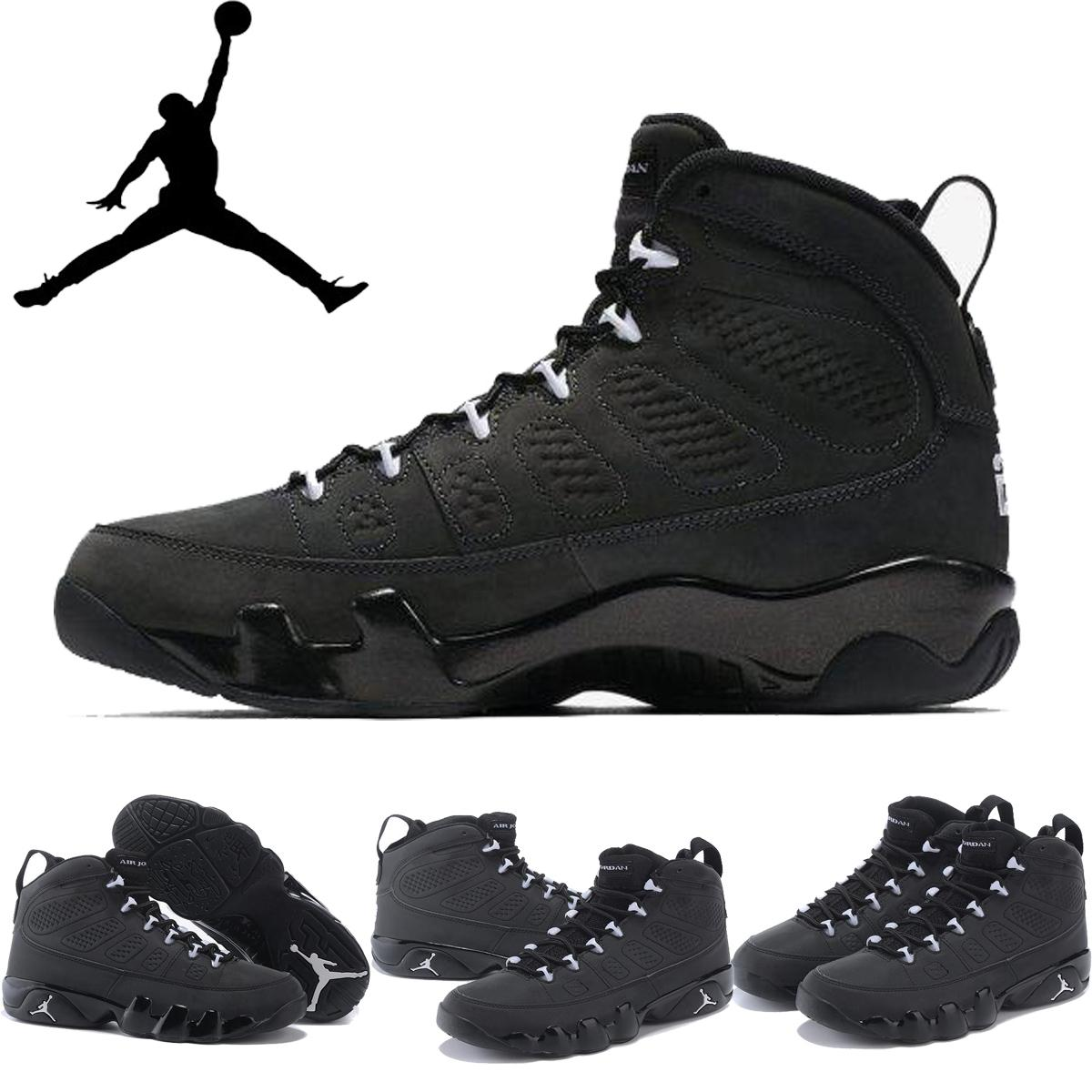 quality design 4a5fd 16865 Großhandel Nike Air Jordan 9 Retro Anthrazit Weiß Schwarz Frauen Der Männer  Basketball Schuhe, Original AJ9 Retro Ix J9s Für Männer Turnschuhe  Sportschuhe ...