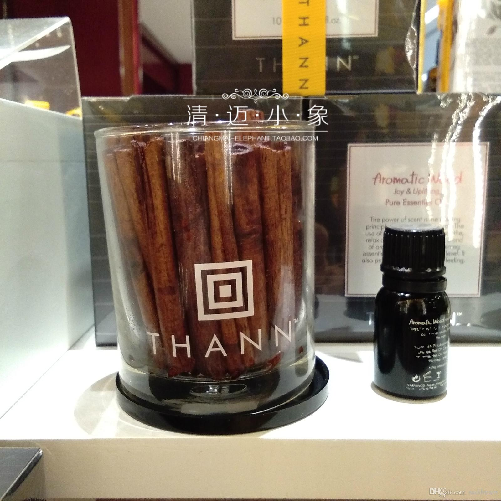 Thai Thann Ting Cinnamon Wood Lemongrass Rose Jasminol Scented Oil ...