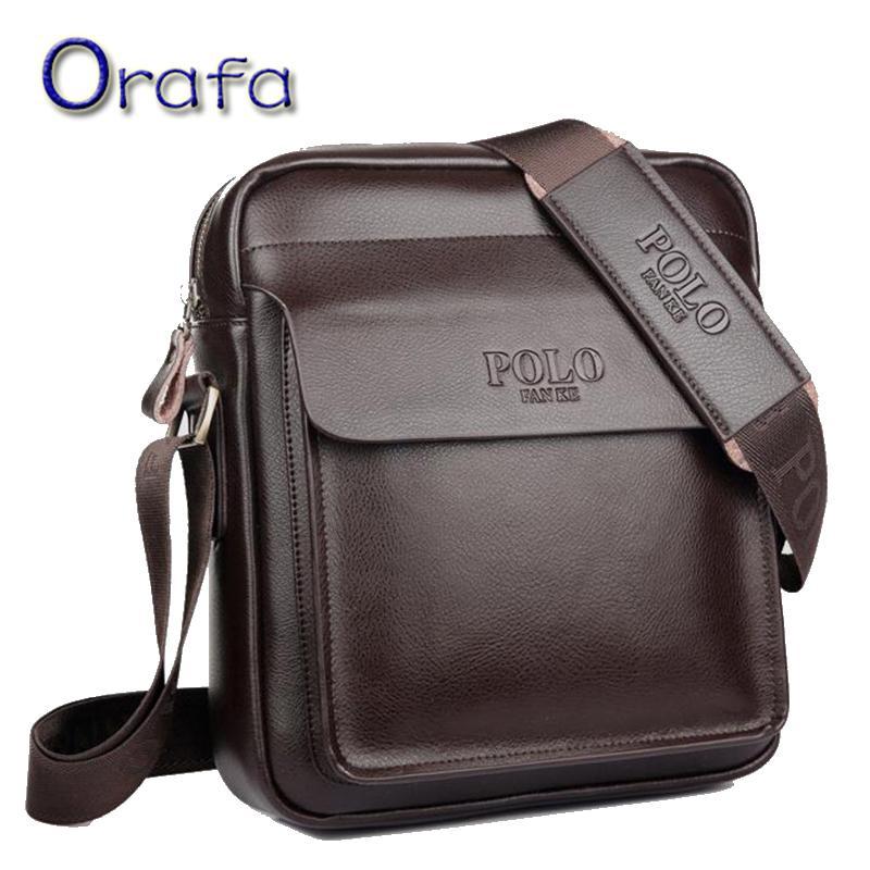 563eb5128b Wholesale- Men Crossbody Bag Polo 2016 Fashion Men Messenger Bag Designer  Famous Brand Shoulder Bag Business Briefcase for Men Briefcase for Men  Business ...