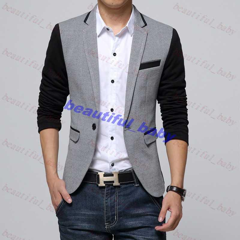 Best New Style Men Blazer 2015 Suit Men Brand Casual Jacket Latest ...