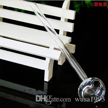 Завод прямые высокого качества стекла прямой горшок 15 см, цвет случайных доставки, аксессуары оптом из стекла кальян, стеклянные бонги бесплатная доставка,