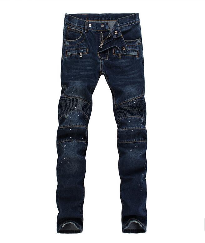 Pants for Men On Sale, Black, Cotton, 2017, L Balmain