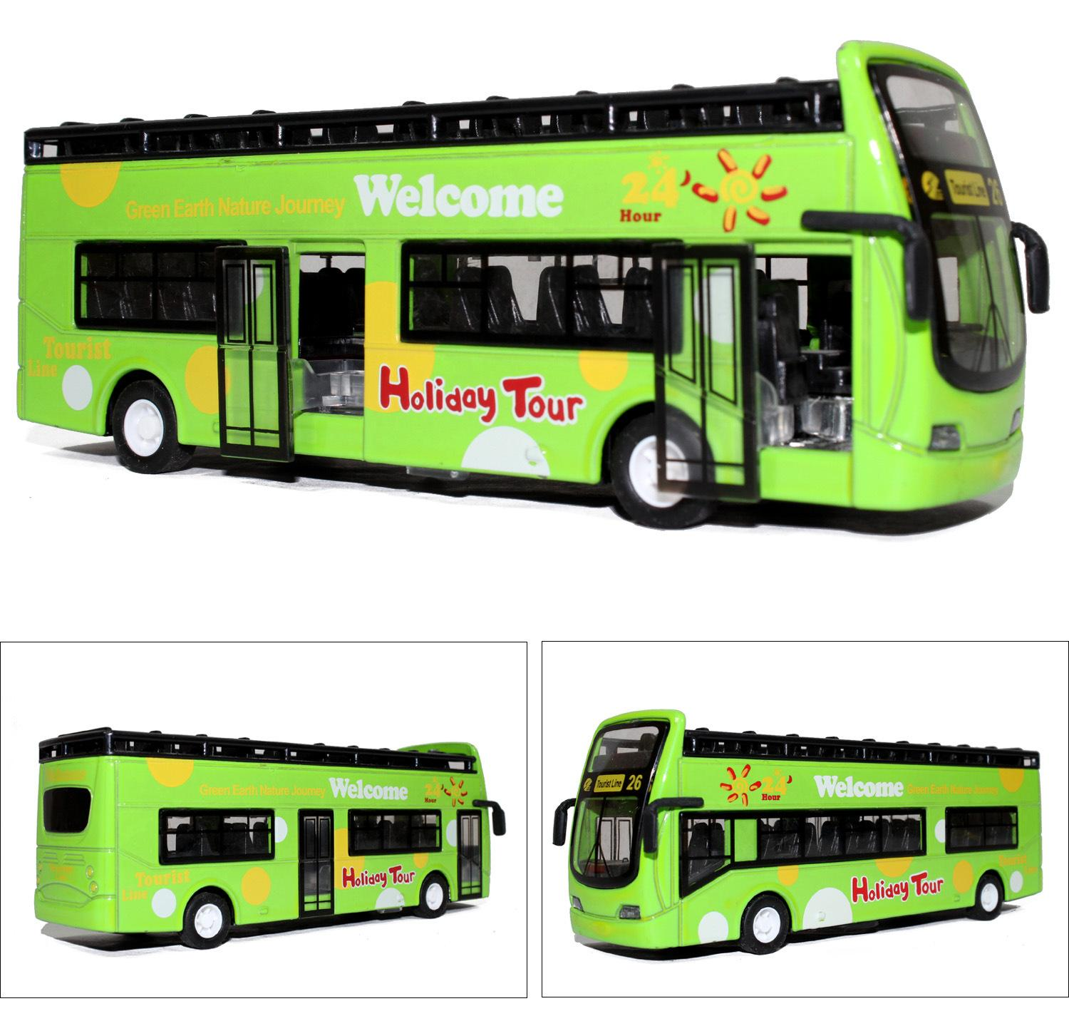 Bus Pull Back Cars Toys line