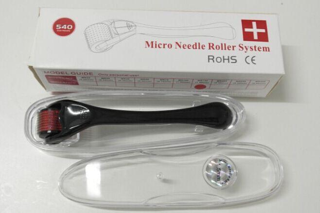 Mevrouw 540 Derma Roller, Skin Roller, Face Roller Naalden Derma Micro Naald Skin Roller Dermatology Therapy Microneedle