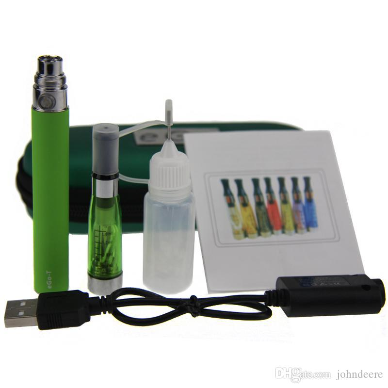 CE4 eGo Starter Kit Electronic Cigarette Zipper Case Single Kit E-Cigarette 650mah 900mah 1100mah best price